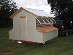 converted boat trailer coop